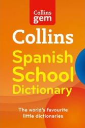 Collins Gem Spanish School Dictionary - фото обкладинки книги
