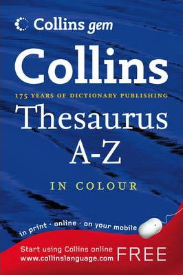 Посібник Collins Gem Thesaurus A-Z