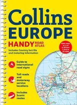 Посібник Collins Handy Road Atlas Europe