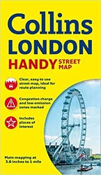 Collins Handy Street Map London - фото обкладинки книги
