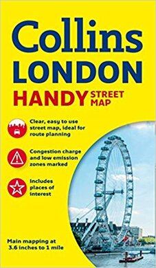 Мапа Collins Handy Street Map London