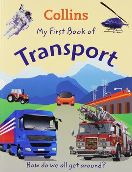 Посібник Collins My First Book Of Transport