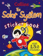 Collins Solar System Sticker Book - фото обкладинки книги