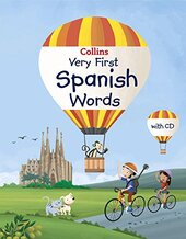 Collins Very First Spanish Words (Collins Primary Dictionaries) - фото обкладинки книги