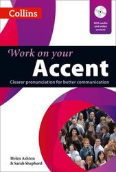 Collins Work on Your Accent. Book with Audio CD & DVD - фото обкладинки книги