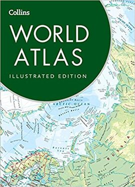 Collins World Atlas: Illustrated Edition - фото книги