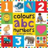 Colours ABC Numbers - фото обкладинки книги