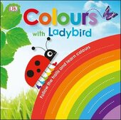 Colours with a Ladybird. Follow the Trails and Learn Colours - фото обкладинки книги