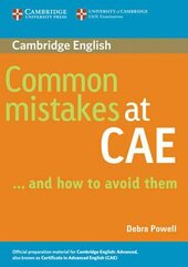 Common Mistakes at CAE: and How to Avoid Them - фото обкладинки книги
