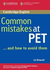 Common Mistakes at PET: And How to Avoid Them - фото обкладинки книги