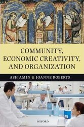 Community, Economic Creativity, and Organization - фото обкладинки книги