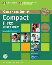 Compact First 2nd Edition. Student's Book with Answers with CD-ROM - фото обкладинки книги