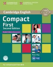 Compact First 2nd Edition. Student's Book without Answers with CD-ROM - фото обкладинки книги