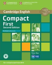 Compact First 2nd Edition. Workbook + Answers + Audio CD - фото обкладинки книги