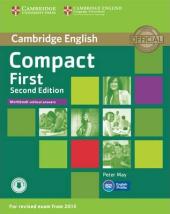 Compact First 2nd Edition. Workbook without Answers + Audio CD - фото обкладинки книги