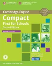 Compact First for Schools 2nd Edition. Workbook + Answers + Audio CD - фото обкладинки книги