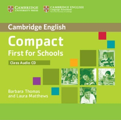 Аудіодиск Compact First for Schools Class Audio CD