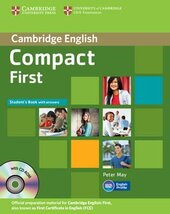 Compact First Student's Book with Answers with CD-ROM - фото обкладинки книги