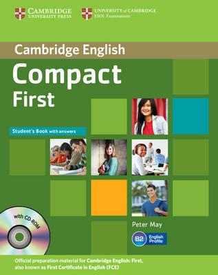 Підручник Compact First Student's Book with Answers with CD-ROM