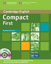 Підручник Compact First Workbook with Answers with Audio CD