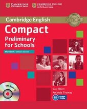 Compact Preliminary for Schools. Workbook without Answers + Audio CD - фото обкладинки книги