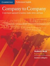 Company to Company 4th Edition. Student's Book - фото обкладинки книги