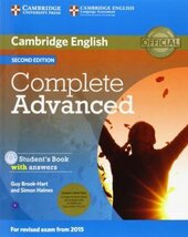 Complete Advanced 2nd Edition. Student's Pack (Student's Book+Answers+CD-ROM and Class Audio CDs) - фото обкладинки книги