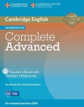 Complete Advanced 2nd Edition. Teacher's Book with Teacher's Resources CD-ROM - фото обкладинки книги