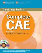 Complete CAE. Workbook with Answers with Audio CD - фото обкладинки книги