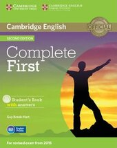 Complete First 2nd Edition. Student's Book with Answers with CD-ROM - фото обкладинки книги