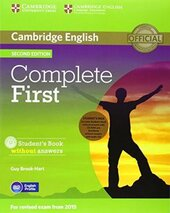 Complete First 2nd Edition. Student's Pack (Student's Book without Answers + CD-ROM, Workbook without Answers + CD) - фото обкладинки книги