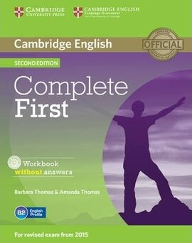 Complete First 2nd Edition. Workbook without Answers + Audio CD - фото книги