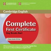 Complete First Certificate Class Audio CD Set - фото обкладинки книги