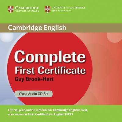 Посібник Complete First Certificate Class Audio CD Set