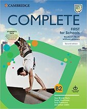 Complete First for Schools 2 Ed Student's Pack (SB w/o Answers with Online Practice and WB w/o Answe) - фото обкладинки книги