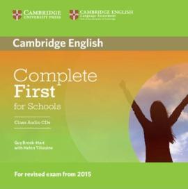 Complete First for Schools. Class Audio CDs (набір із 2 аудіодисків) - фото книги