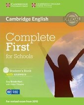 Complete First for Schools. Student's Book with Answers with CD-ROM - фото обкладинки книги