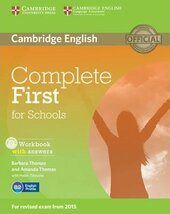 Complete First for Schools. Workbook + Answers + Audio CD - фото обкладинки книги
