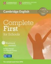 Complete First for Schools. Workbook + Answers + Audio CD - фото обкладинки книги