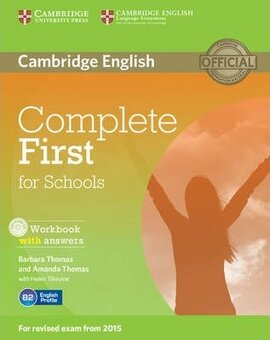 Complete First for Schools. Workbook + Answers + Audio CD - фото книги