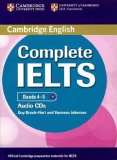 Complete IELTS Bands 4-5. Class Audio CDs (набір із 2 аудіодисків) - фото обкладинки книги