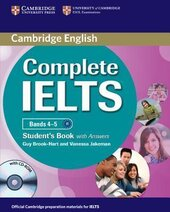 Complete IELTS Bands 4-5. Student's Book + Answers + CD-ROM - фото обкладинки книги