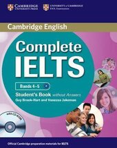 Complete IELTS Bands 4-5. Student's Book + CD-ROM without  Answers - фото обкладинки книги