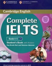 Complete IELTS Bands 4-5. Student's Pack (Student's Book + Answers + CD-ROM and Class Audio CDs) - фото обкладинки книги