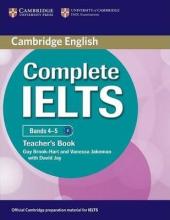 Complete IELTS Bands 4-5. Teacher's Book - фото обкладинки книги