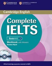 Complete IELTS Bands 4-5. Workbook + Answers + Audio CD - фото обкладинки книги