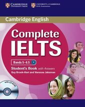 Complete IELTS Bands 5-6.5. Student's Book + Answers + CD-ROM - фото обкладинки книги