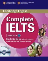 Complete IELTS Bands 5-6.5. Student's Book + CD-ROM without  Answers - фото обкладинки книги