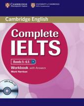 Complete IELTS Bands 5-6.5. Workbook + Answers + Audio CD - фото обкладинки книги