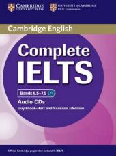 Complete IELTS Bands 6.5-7.5. Class Audio CDs (набір із 2 аудіодисків) - фото обкладинки книги